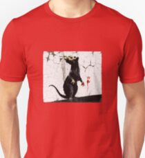 Fitzrovia Rat by Banksy T-Shirt
