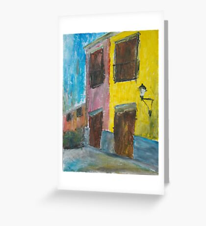 Tlaquepaque Mexico Greeting Card