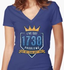 1738 Problems Women's Fitted V-Neck T-Shirt
