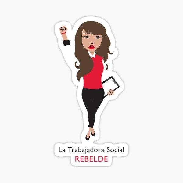 La Trabajadora Social Pegatina