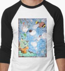 Elves & Fairies Men's Baseball ¾ T-Shirt