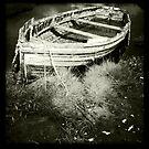Old Rowing Boat by Richard Flint