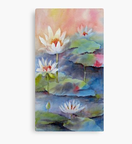 Pond Dancers 2 Canvas Print