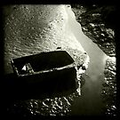 Boat in the Mud by Richard Flint