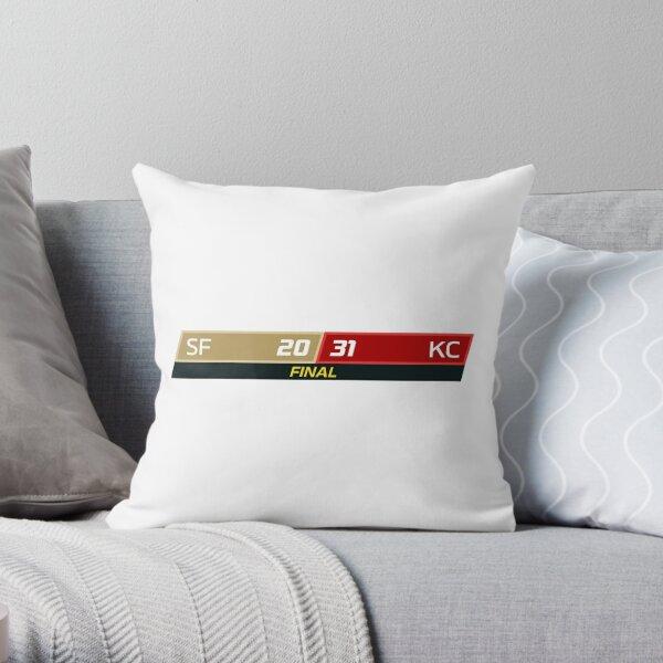 SF 20 - 31 KC Throw Pillow