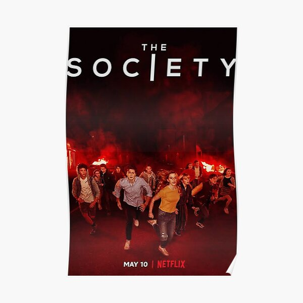 The Society Netflix Poster Poster