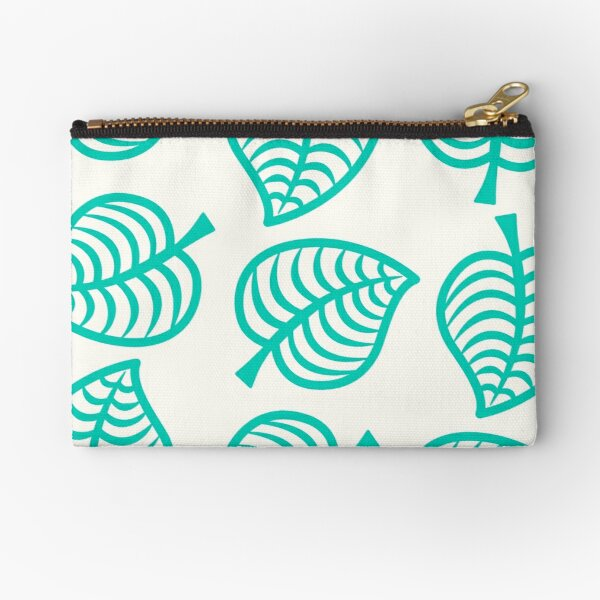 Island Life Pattern | Animal Crossing New Horizons Inspired Pattern Zipper Pouch