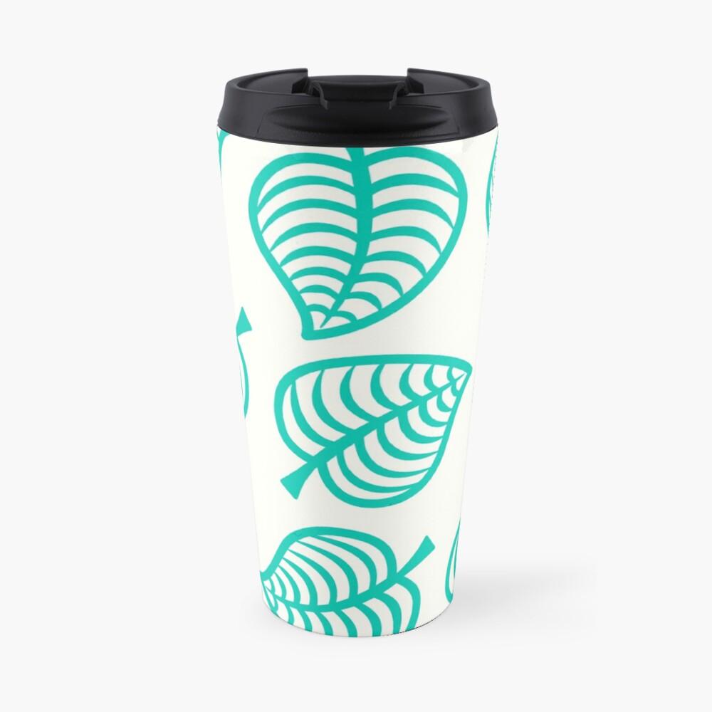 Island Life Pattern   Animal Crossing New Horizons Inspired Pattern Travel Mug
