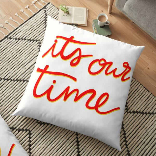 Chiefs It's Our Time Floor Pillow