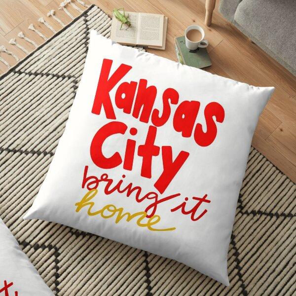 Kansas City Bring it Home Floor Pillow
