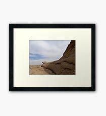 Vasquez Rock Framed Print