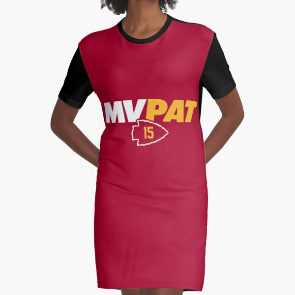 Patrick Mahomes - Super Bowl LIV MVP Graphic T-Shirt Dress