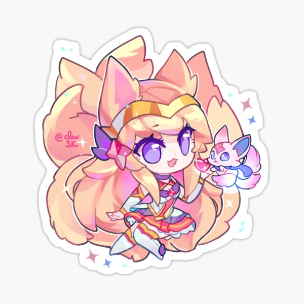 Ahri Star Guardian Sticker