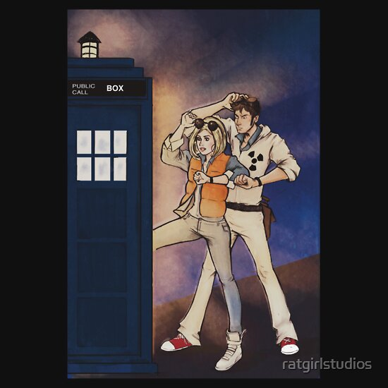 TShirtGifter presents: Back to the Tardis