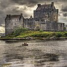 Paddling to the Castle by Chris Cherry
