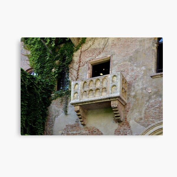 Balcone di Romeo e Giulietta Canvas Print