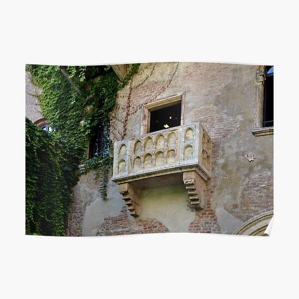 Balcone di Romeo e Giulietta Poster