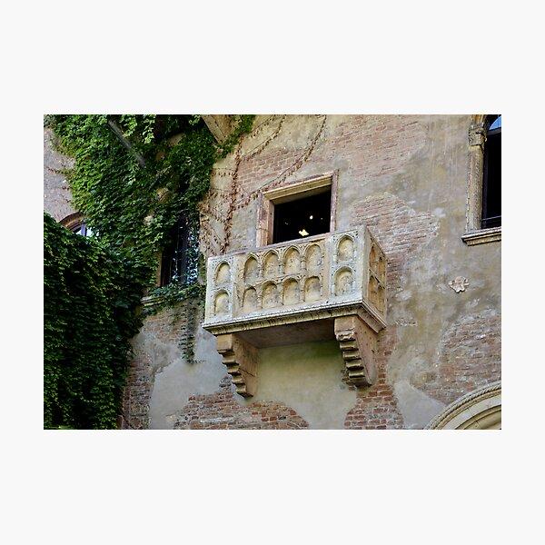 Balcone di Romeo e Giulietta Photographic Print