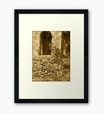 Sugar Mill - St. Kitts, Eastern Caribbean Framed Print