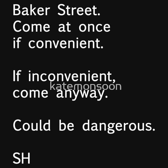TShirtGifter presents: Sherlock Messages - 7