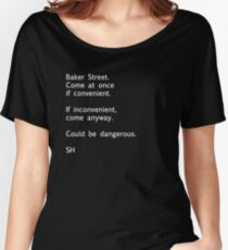 Sherlock Messages - 7 Women's Relaxed Fit T-Shirt