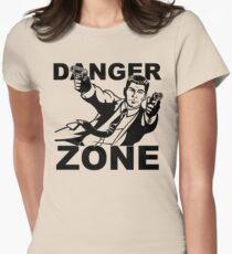 Archer Danger Zone FX TV Funny Cartoon Cotton Blend Adult T Shirt Womens Fitted T-Shirt