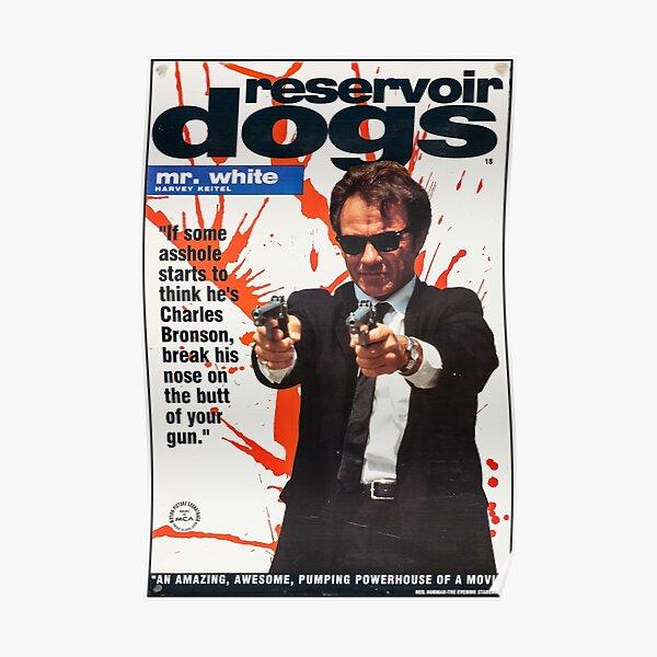 Affiche de chiens de réservoir - Mr White Poster