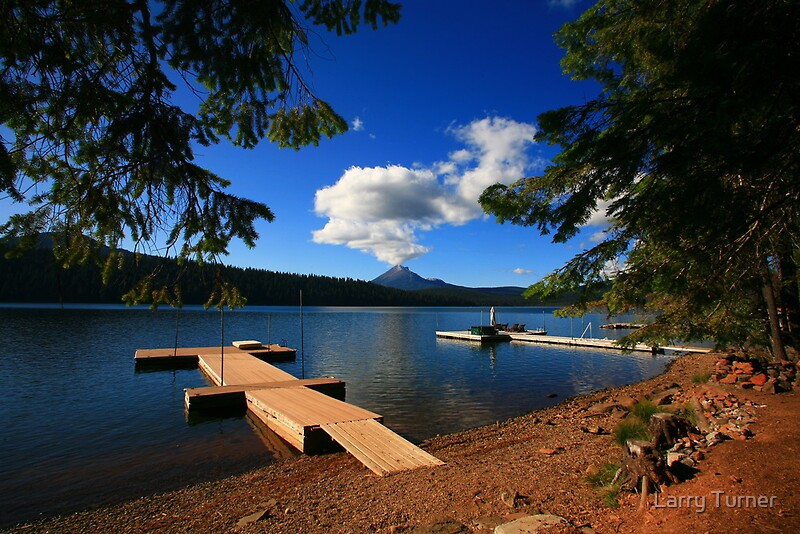 Quot Lake Of The Woods Oregon Quot By Larry Turner Redbubble