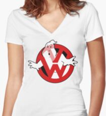 Golfbusters Women's Fitted V-Neck T-Shirt