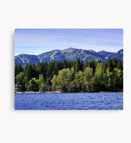 Big Mountain (Whitefish, Montana, USA) Canvas Print