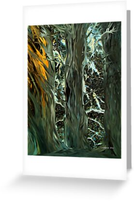 Cedar Crevice by linmarie