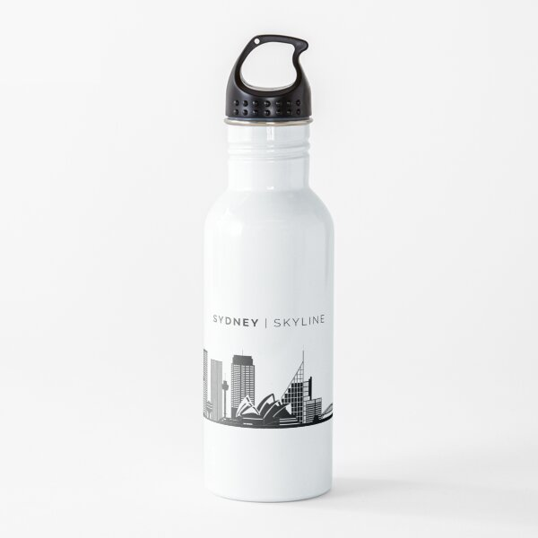 Sydney City Skyline Art Water Bottle