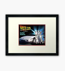 Off to be the Wizard Framed Print