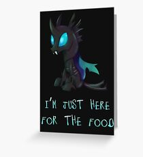 My Little Pony - MLP - Changeling Greeting Card