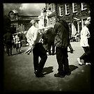 The Conversation - Fakenham Market, Norfolk, UK by Richard Flint