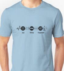 Eat, Sleep, Engineer, REVISED T-Shirt
