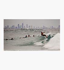 Surf City Photographic Print