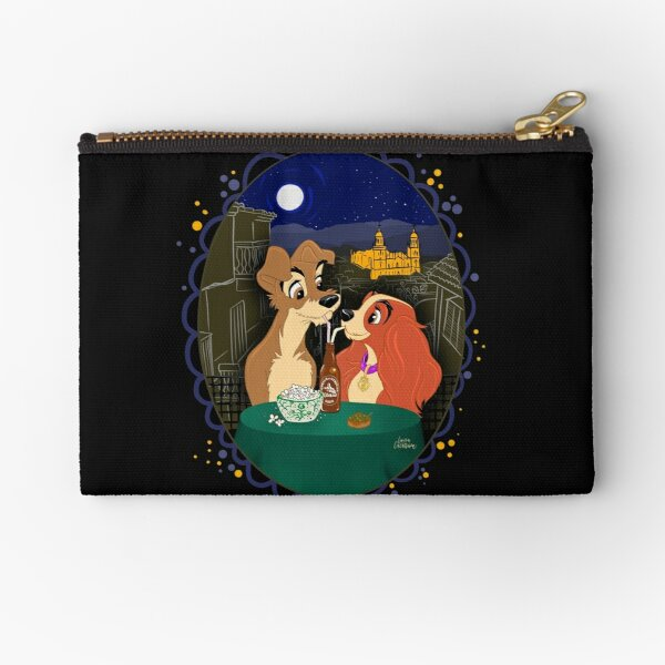 The lady and the tramp in Jaen Zipper Pouch