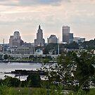 Dusk Descending Over Providence - Rhode Island by Jack McCabe