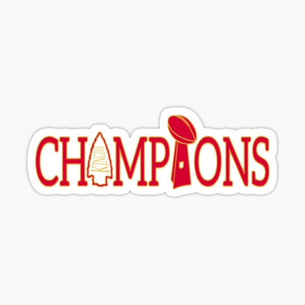 Kansas City champions  Sticker