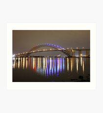 Bayonne Bridge Art Print