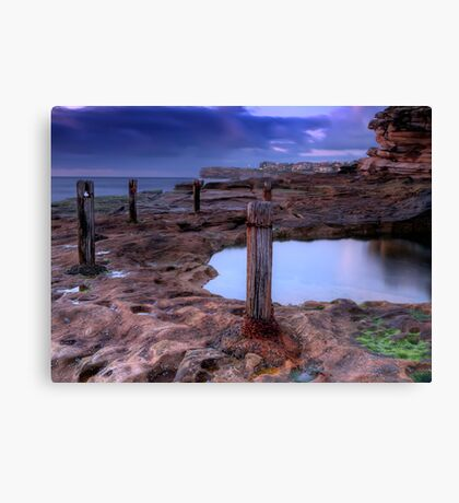 Broken and Rusty Canvas Print