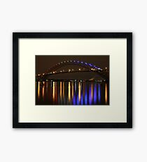 Bayonne Bridge Framed Print