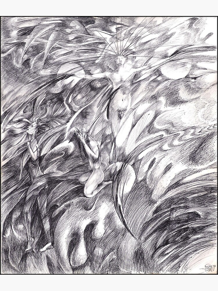 Adam & Eve (the drawing) by dajson