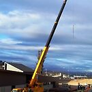 Rumbles Cranes (RAR Group) by buildings