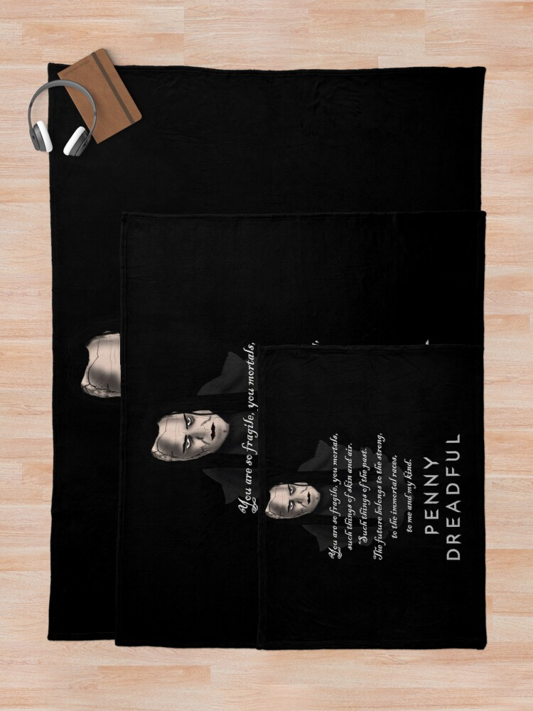 Alternate view of Penny Dreadful: John Claire  Throw Blanket
