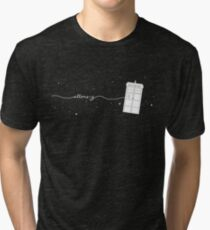 Allons-y to the TARDIS Tri-blend T-Shirt