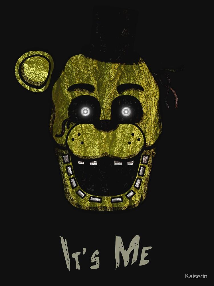 Five Nights at Freddy's - FNAF 3 - Phantom Freddy - It's Me by Kaiserin