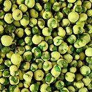 Wasabi Peas by Janie. D