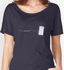Geronimo to the TARDIS Women's Relaxed Fit T-Shirt